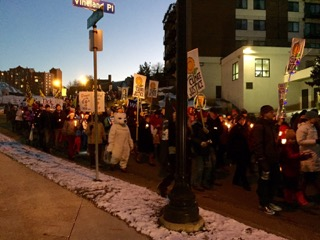 Climate March in Minneapolis, MN (11/28)