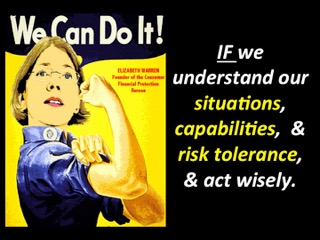 Elizabeth Warren - We can do it! poster