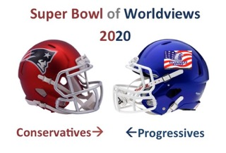 Super Bowl of Worldviews 2020: Conservatives vs. Liberals