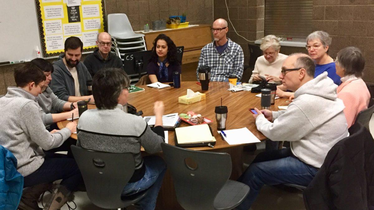 CFS members in discussion